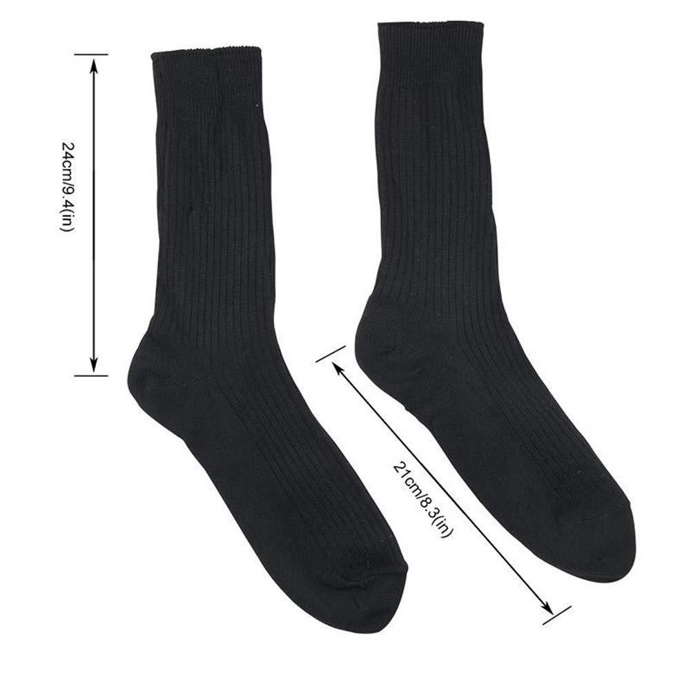 Yonhchop Bater/ía Recargable Calcetines t/érmicos el/éctricos Calcetines t/érmicos Botas para pies Calentador Calcetines de esqu/í de Invierno al Aire Libre Color : Black, tama/ño : One Size