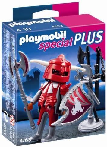 PLAYMOBIL - Caballero con Armadura (4763): Amazon.es: Juguetes y juegos