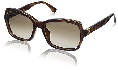 Amazon.com: Fendi 0007/S – Gafas de sol, Marrón, talla única ...
