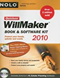 Quicken Willmaker 2010 Edition: Book & Software Kit (Quicken Willmaker Plus)