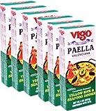 Vigo Paella Kit. Complete with Seafood. 8 oz Pack of 6