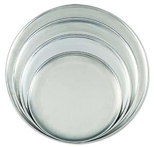 """Browne (575307) 7"""" Aluminum Pizza Plates"""