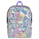 Unicorn Backpack Holographic Back Pack School Bag for Girl Accessories Travel Rucksack Straps