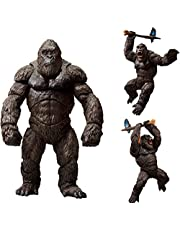 Godzillas Vs King Kong Movie Action Figur 2021 Pvc Joints Livlig bild Leksak Modell Dekoration King Of Monsters Barn Leksaker Present 18Cm