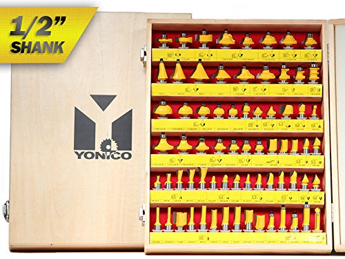 Yonico 17702 70 Bit Router Bit Set