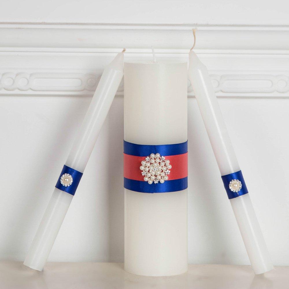 OKSLO Handmade Unity Candles, Wedding Unity Candle Ceremony Unity Candles Set Handmade