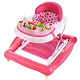 Baby Walker Bouncer Jumper Activity Center Toddler Infant Seat Stroller pink