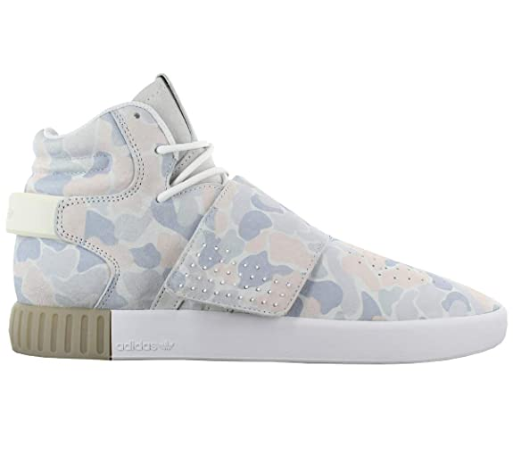 2e8c2b7338 adidas Tubular Invader Strap BB8394 Camo-Blanc Chaussures Homme Sneaker  Baskets Pointure: EU 46 UK 11: Amazon.fr: Chaussures et Sacs