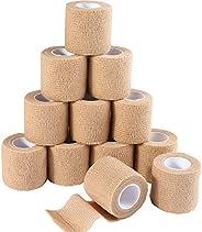 tan color bandage adhesive tape wrap