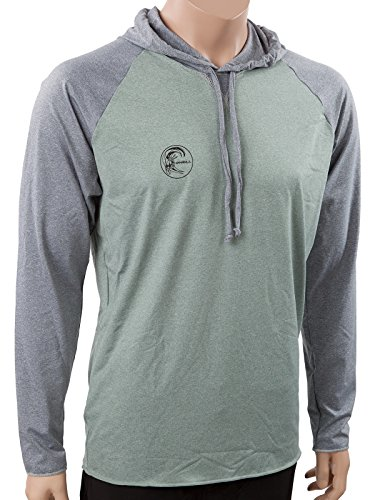O'Neill Wetsuits UV Sun Protection Mens 24/7 Hybrid Long Sleeve Hoodie Sun Shirt