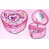 : Heart Shape Jewelry Box, Best Friends Forever Jewelry Box