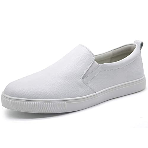 f0e1c8251ccfd Amazon.com | HKR Womens Leather Slip On Sneakers Comfort Driving ...