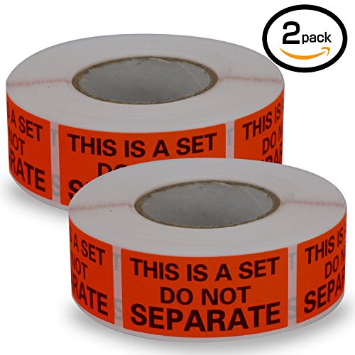 Rolls Labels Separate Fluorescent Packing product image