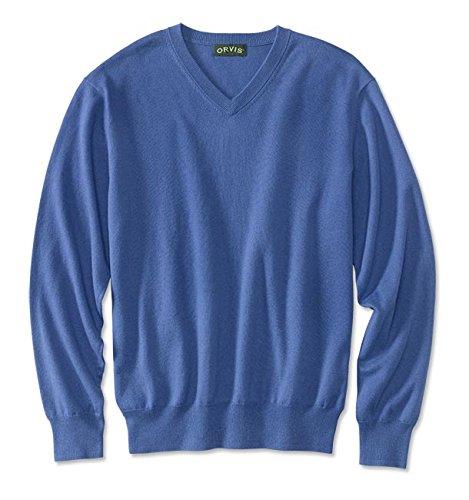 Orvis Cotton/Silk/Cashmere V-neck Sweater / Cotton/Silk/Cashmere V-neck