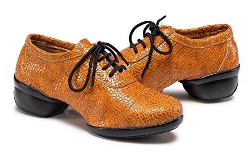TDA - Sandalias con cuña mujer naranja