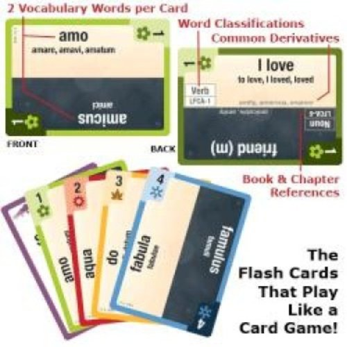 Latin Clash Cards - Latin for Children, Primer A (Latin Edition) by STL Distributors