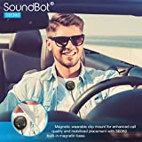 SoundBot-SB360-Bluetooth-40-Car-Kit-Hands-Free-Wireless-Talking-Music-Streaming-Dongle-w-10W-Dual-Port-21A-USB-Charger-Magnetic-Mounts-Built-in-35mm-Aux-Cable