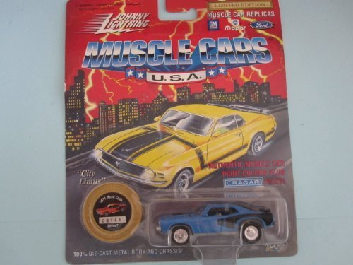 1971 Hemi Cuda (Blau) Series 7 Johnny Lightning Muscle Cars Limited Edition by Playing Mantis