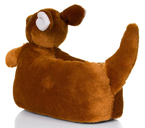 Cute Ladies, Womens, Girls Novelty 3D Animal Slippers Various Styles, Sizes 3-8 Kylie Kangaroo