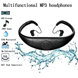 Best Player For Swimming Surfing - MP3 Waterproof swimming Player, Tayogo underwater 8GB memory Review