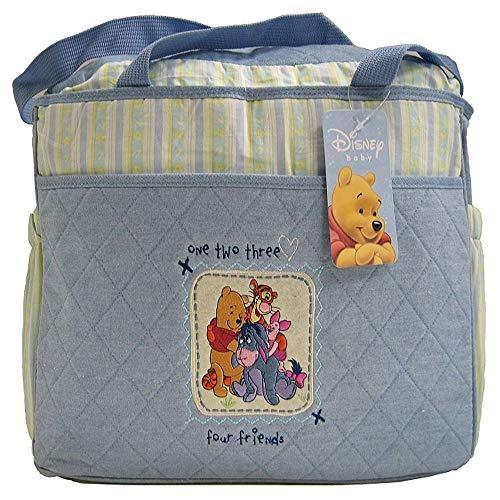 Pooh Bag Diaper Baby - Disney Winnie the Pooh Diaper Bag, Large