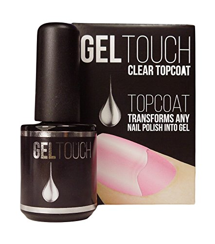 Kit de iniciación Gel Touch con lámpara LED y esmalte de capa superior de 8 ml: Amazon.es: Belleza