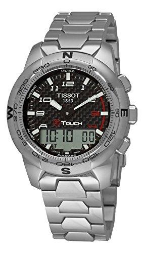 Titanium Chronograph Alarm 100m Watch - 6