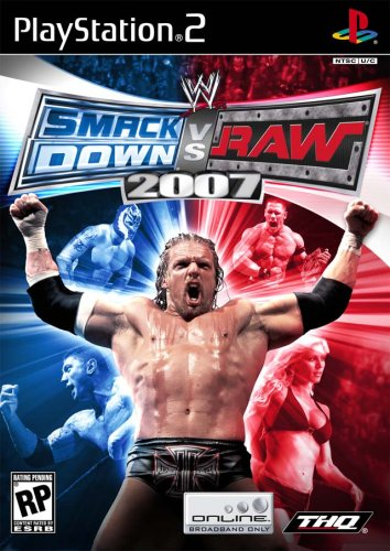 WWE SmackDown vs. Raw 2007 - PlayStation - Ps2 Wwe