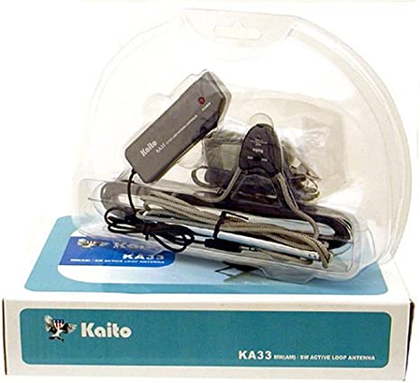 Kaito KA33 - Antena (Bucle Activo Am Amplificado y Onda Corta ...
