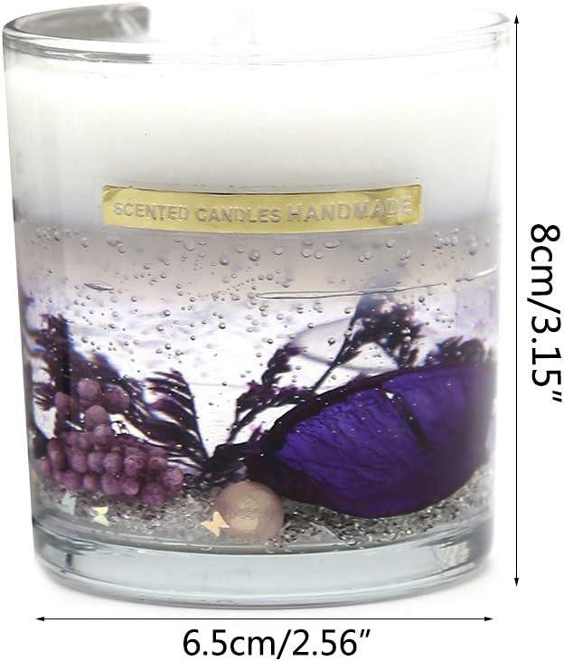 Chou 1pc Bougies Parfum/ée Bougie Large pour Soins du Bain Et du Corps