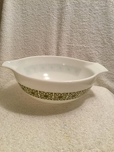 (Vintage Pyrex Green Square (Verde) Cinderella Four (4) Quart Mixing Bowl)