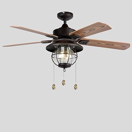 LAMP®-American Campo Ventilador de techo Lámpara Antiguo ...