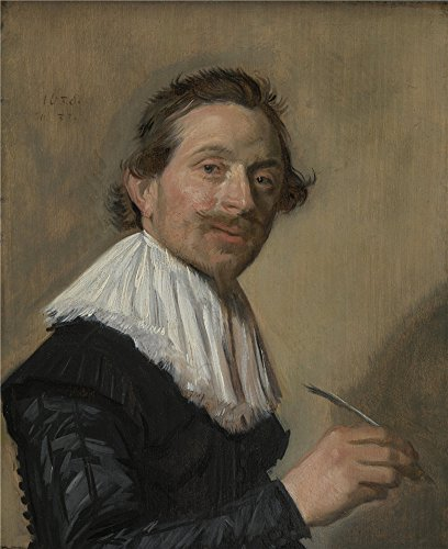 Oil Painting 'Frans Hals - Portrait Of Jean De La Chambre At The Age Of 33,about 1638' 8 x 10 inch / 20 x 25 cm , on High Definition HD canvas prints, gifts for Bath Room, Home Office And Kids decor