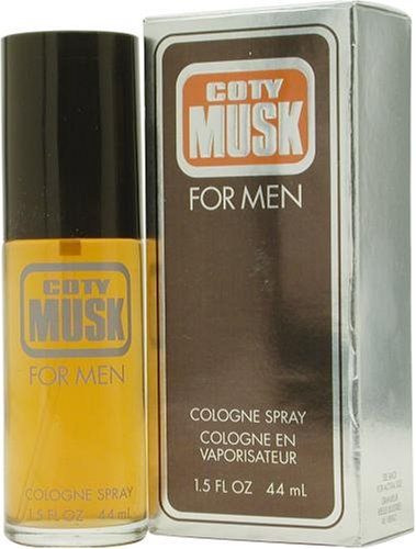 Coty Musk by Coty For Men. Cologne Spray 1.5-Ounces