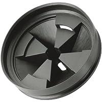 InSinkErator QCB-AM Anti-Microbial Quiet Collar Sink Baffle, Black