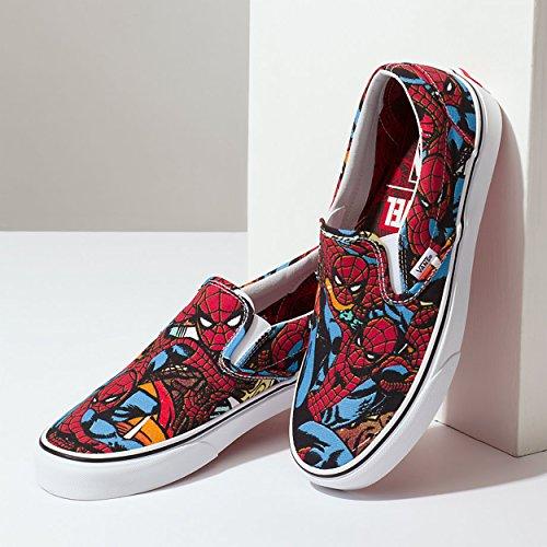 Multicolour Vans on Spi Spiderman Marvel Slip Sneaker XRXqO