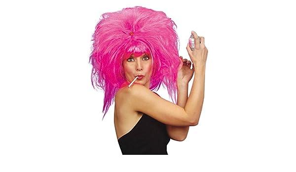 Peluca Pretty Woman Colour de la peluca para mujer dinamita Carnaval Star show de la peluca de la peluca para Carnaval casi de noche de las mujeres: ...