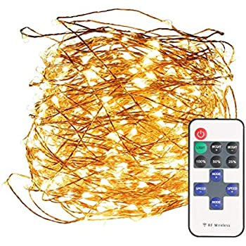 Amazon Com Tanbaby 33ft Led Copper String Lights Warm