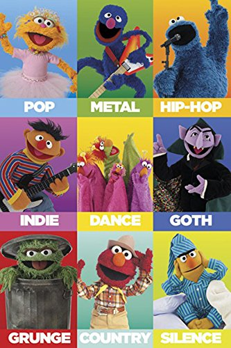 photograph relating to Printable Pictures of Sesame Street Characters identified as : Sesame Highway People as Audio Genres