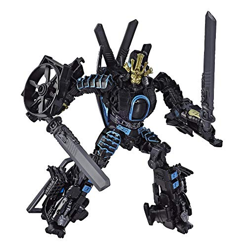 Transformers Toys Studio Series 45 Deluxe Class Age of Extinction Movie Autobot Drift Action Figure – Ages 8 & Up, 4.5″