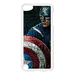 ipod touch 5 phone cases White Captain America cell phone cases Beautiful gifts YWTS0407969