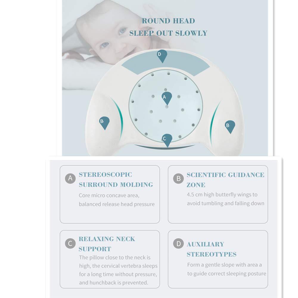 TBBA Almohada para bebé Síndrome de Cabeza Plana Almohada ...