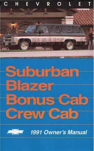 Chevrolet Blazer Suburban Owners Manual - 4