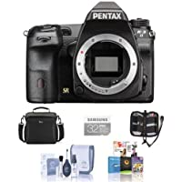 Pentax K-3 II Digital SLR Camera Body, 24.35MP - Bundle with 32GB SDHC U3 Card, Camera Case, Cleaning Kit, Memory Wallet, Software Bundle