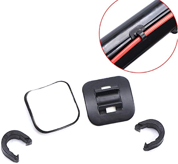 Bicycle C Clips Line Pipe Cable Housing Guide Tubing Fixed Clamp Cord Holder Kit