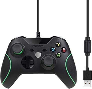 Pekyok Wired Controller Gamepad para Xbox One, SW26 Xbox One Wired ...