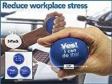 Teacher Peach Motivational Stress Balls, 3