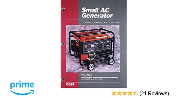Small ac generator service manual volume 2 covers complete small ac generator service manual volume 2 covers complete maintenance and repair information for most portable generator models mike hall fandeluxe Choice Image