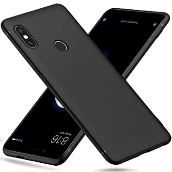 Peakally Funda Xiaomi Redmi Note 5, Negro TPU Suave Funda para Xiaomi Redmi Note 5 Carcasa Flexible Ligero Fundas [Resistente a arañazos] [Ultrafina ...