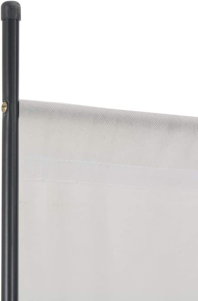Paravent dinterieur Cloison Decorative Marron 175x180 cm Tidyard Paravent Pliable 1 Panneau Cloison de S/éparation